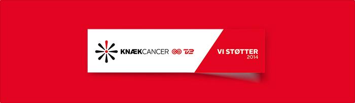 Vi giver 10 x 1245 kroner til KNÆK CANCER!