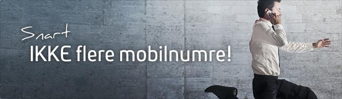 Danskerne løber snart tør for mobil-numre