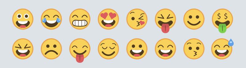 Hvorfor har inMobile ikke emojis?