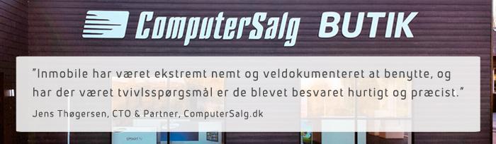 Case: ComputerSalg.dk anvender SMS-beskeder i sin webshop