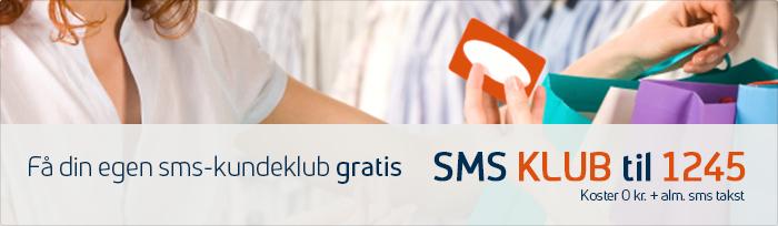 Øg dit salg ved at få din egen SMS-kundeklub