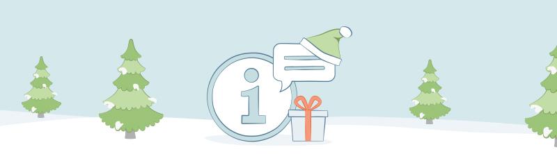 Highlight vigtige informationer for julen